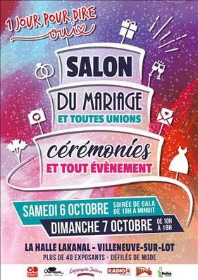 Le Salon du Mariage Le 6 et 7 Octobre 2018