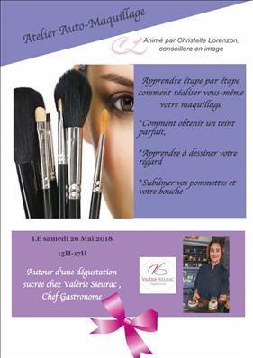 Atelier Auto-maquillage le 26 Mai
