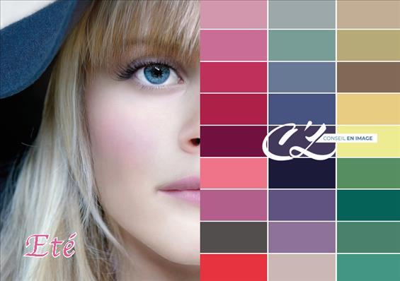 Quelles couleurs me vont , les couleurs froides ?