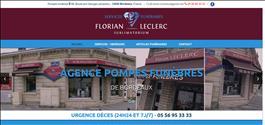 Agence Pompes Funèbres Sublimatorium Florian Leclerc de BORDEAUX